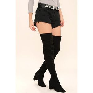 Sexy Jeffrey Campbell Thigh High Boots